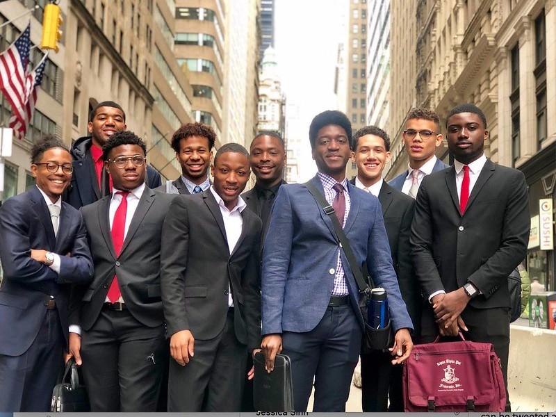 Sweatt Center for Black Males UT Wall Street Photo